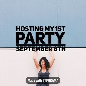 ✨Co-Hosting my 1st Posh Party 9/8 Please Share✨